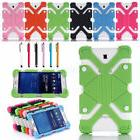 universal silicone stand case cover for 7