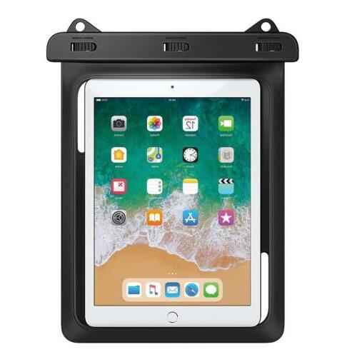 MoKo Universal Waterproof Case Dry 9.7/Samasung Tab S3/S2/iPad
