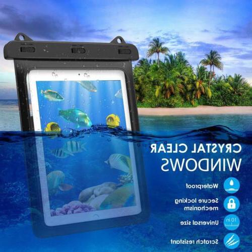 MoKo Universal Waterproof Dry Bag for 9.7/Samasung Tab