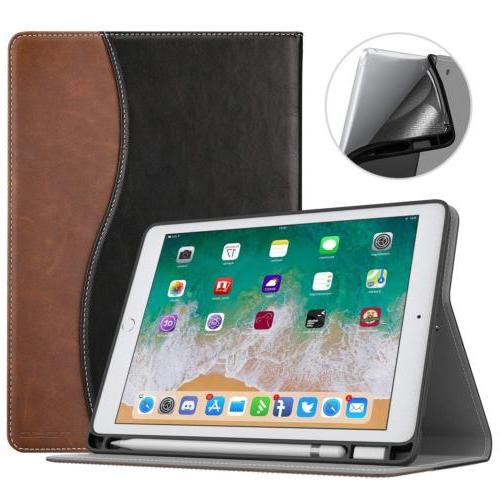 MoKo Wake/Sleep Folio Stand Cover Pencil iPad 9.7'' 2018