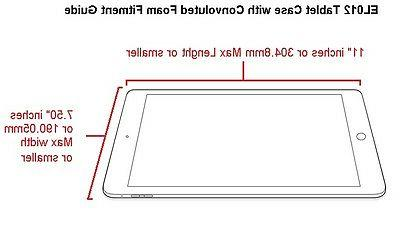 Waterproof Tablet book hard for Fire 10/8,Galaxy Tab S2