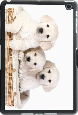 Rikki Knight Labrador Puppies in Basket Design iPad Mini Sma