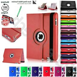 360°Rotate Smart Leather Case Cover For Apple iPad 9.7 6th