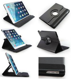 Leather 360 Degree Rotating Smart Stand Case Cover For All A