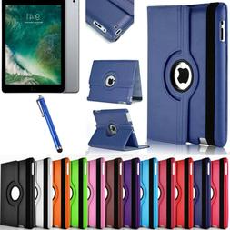 Leather 360 Degree Rotating Smart Stand Case Cover For APPLE