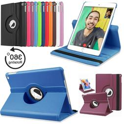 Leather 360 Rotating Smart Filp Case Cover Apple iPad Air Pr