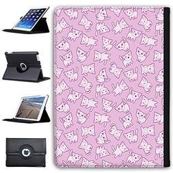 "Leather Case For Apple iPad 9.7"" 5th Generation  - Kawaii Cu"