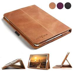 Boriyuan Leather Case Compatible for iPad 9.7 2018/2017/iPad