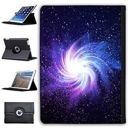 """Leather Case For Apple iPad 9.7"""" 5th Generation  - Glowing G"""