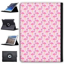 "Leather Case For Apple iPad 9.7"" 5th Generation  - Flamingo"