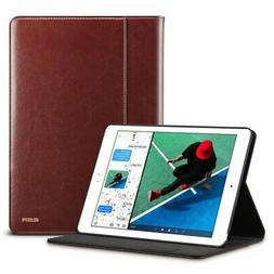 Leather Folio Case For iPad 9.7inch iPad Air 2/Air/Pro Apple
