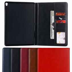 Leather Smart Case Magnetic Stand Cover for Apple iPad 5th G