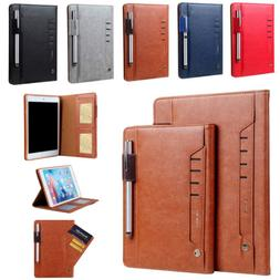 Leather Smart Stand Case Cover for iPad 9.7 2017 2018 Mini 1