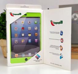 Lime Green Redpepper Case for iPad Mini 1/2/3 IP68 Waterproo