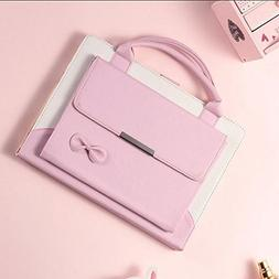 amhello Lovely Handbag Synthetic Leather Magnetic Stand Case