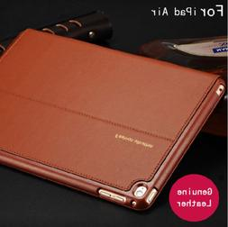 Luxury Classic Leather Case Smart Auto Sleep Cover For iPad