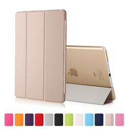 Luxury SMART PU Leather Stand Book Case Cover For Apple iPad