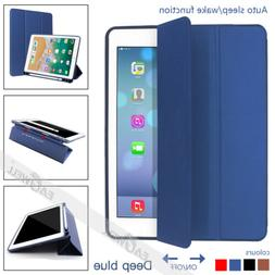 Luxury PU Leather Smart Case Cover With Pencil Holder For Ip