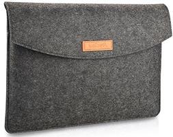ProCase 9.7-10.1 Inch Sleeve Case, Portable Felt Carrying Pr