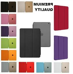 magnetic leather smart cover hard case