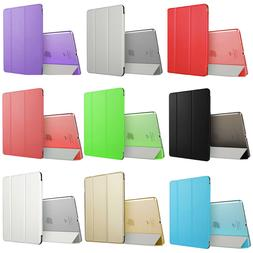 Magnetic Smart Case Slim Standing Back Cover for iPad Air &