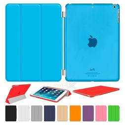 Magnetic Smart Cover Hard Back Case For Apple iPad 9.7inch 2
