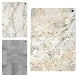 Marble Protective Plastic Case Shell Cover for Apple iPad Ai