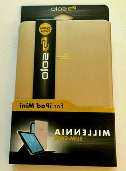 Solo Millennial Ipad Mini 4 Slim Case, Rose Gold