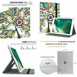 Moko Case Fit Ipad 9.7 5Th/6Th Generation - 360 Degree Rotat