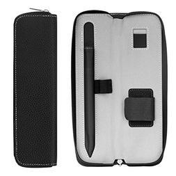 MoKo Pencil Holder Case for Apple Pencil, Premium PU Leather