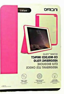 New Apple iPad Air 2 Incipio Octane Folio Tablet Case Co-Mol