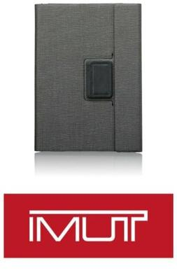 NEW TUMI ASTON ROTATING FOLIO IPAD PRO CASE 9.7 GREY & Black