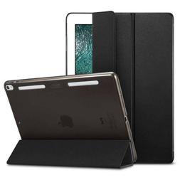 """NEW Black iPad Pro 10.5"""" Case ESR Premium Leather Folio Cove"""