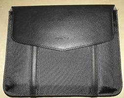 NEW Verizon Black Leather Tablet E-Reader E-Book iPad Sleeve