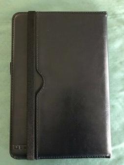 NEW DTTO Blue iPad Mini 4 Case, Premium Leather Folio Stand