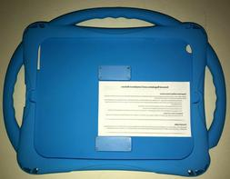 new blue ipad protective case kids girl