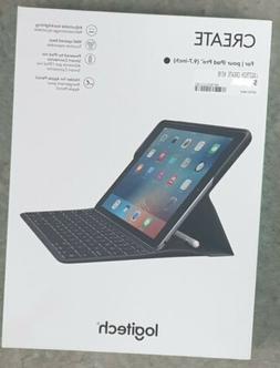 """*New* Logitech Create iPad Pro 9.7"""" Wireless Keyboard Case w"""