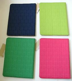 NEW-MICHAEL KORS ELECTRONICS GREEN+PINK NEOPRENE iPAD,TABLET
