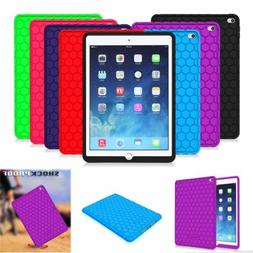 New For Apple iPad Silicone Case Kids Friendly Anti Slip Sho