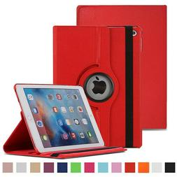 New iPad Cover 360 Flip Shockproof Leather Case for iPad 2/3