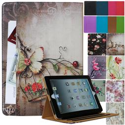 For New iPad 6th 5th Gen & iPad Air Leather Smart Case Cover