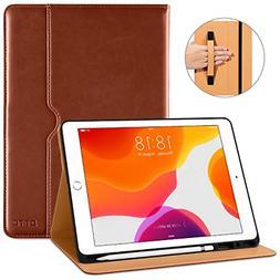 DTTO New iPad 7th Generation Case 10.2 Inch 2019 Premium Lea