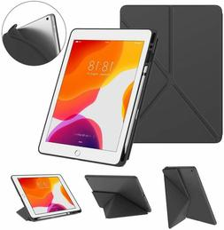 DTTO New iPad 7th Generation Case with Pencil Holder, iPad 1