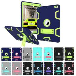 """For New iPad 9.7"""" 2017 2018 Shockproof Military Heavy Duty R"""