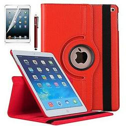 New iPad 9.7 2018 2017 / iPad Air Case - AiSMei Rotating Sta