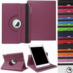 For New iPad 9.7 2018 6th Generation 360 Rotating Leather Sm