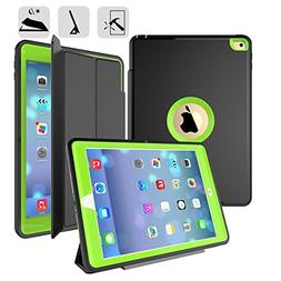 Fitvers New iPad 9. 7 Inch 2017 Case Slim Shockproof Rugged