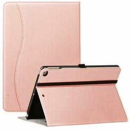 Ztotop New IPad 9.7 Inch 2018/2017 Case, Premium Leather Bus