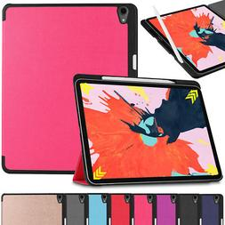 For New iPad Pro 11'' 12.9'' 3rd Generation 2018 Smart Leath
