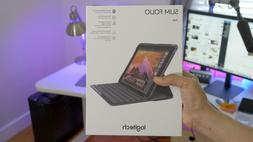 New Logitech iPad Slim Folio Case Bluetooth Keyboard for iPa